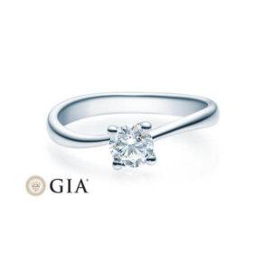 Verlobungsring Weißgold 585/- zus. 0,400 ct, tw, si - RU-1500-6